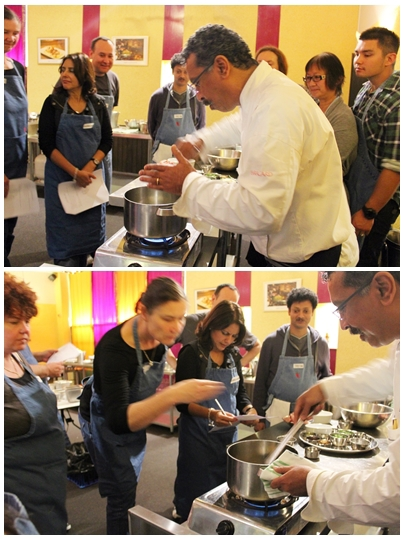 Nilgiris, Ajoy Joshi, Indian cuisine, cooking class, indian cooking, St Leonards, the art of cooking, waffing