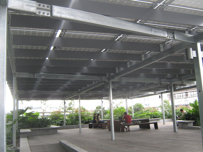 photovoltaic cells roof