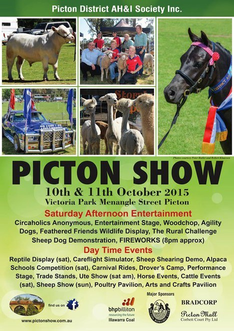 Image courtesy of the Picton Show website