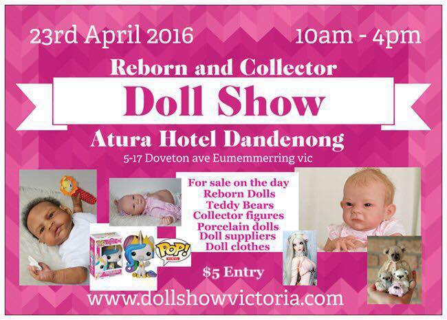 Reborn and collector doll show, reborns