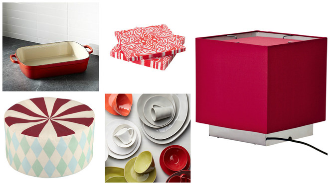 SG51, NDP2016, NDP51, Singapore National Day, ikea, flexa singapore, red & white household items, crate & barrels singapore