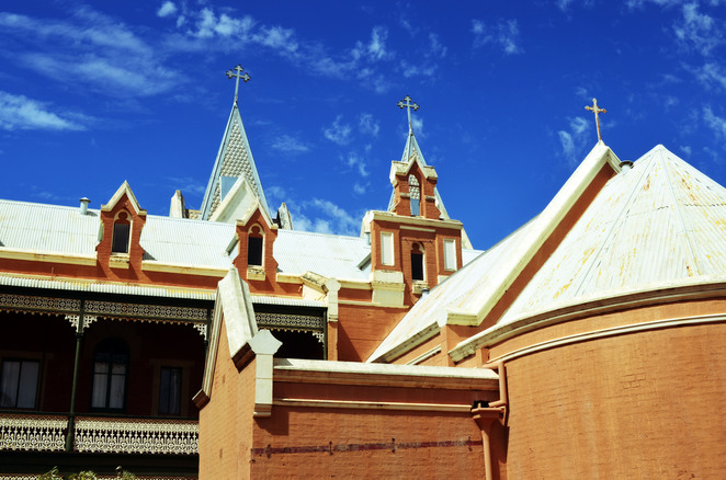st gertrude's convent, new norcia