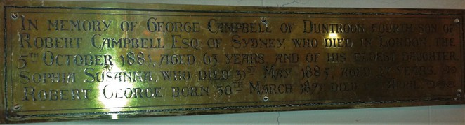 st johns anglican church, st johns church, st johns schoolhouse museum, canberra, history, early settlers, duntoon, campbell family, robert campbell,