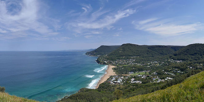 Stanwell tops views to Sea Cliff Bridge