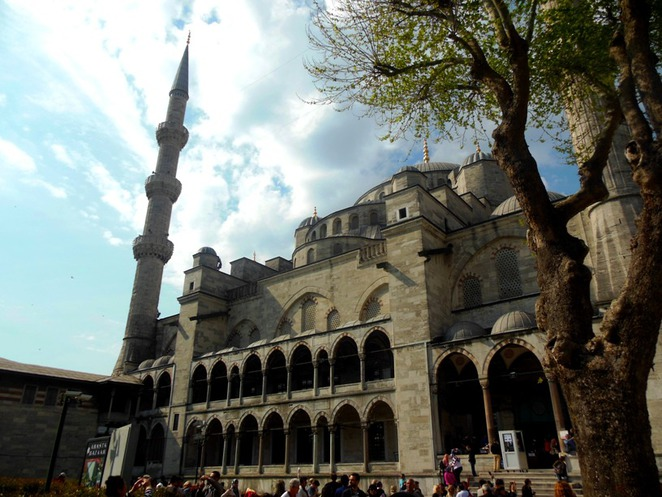 The Blue Mosque or Sultanahmet Mosque in Istanbul