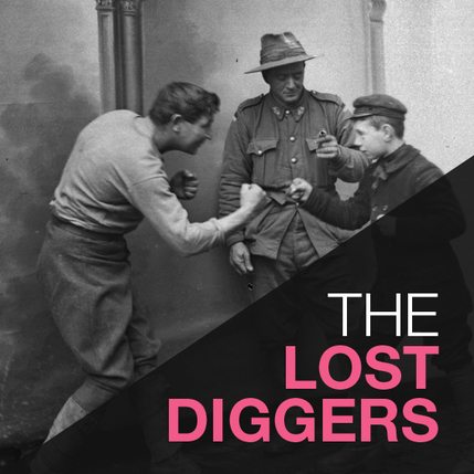 the lost diggers exhibition