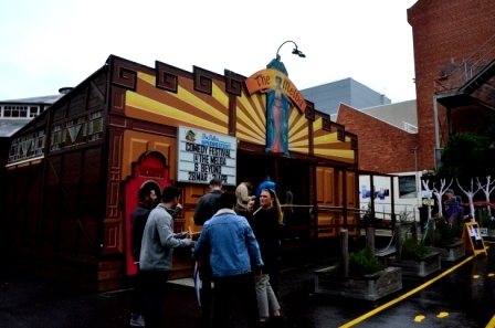 The Melba Spiegeltent built in 1920 in Collingwood