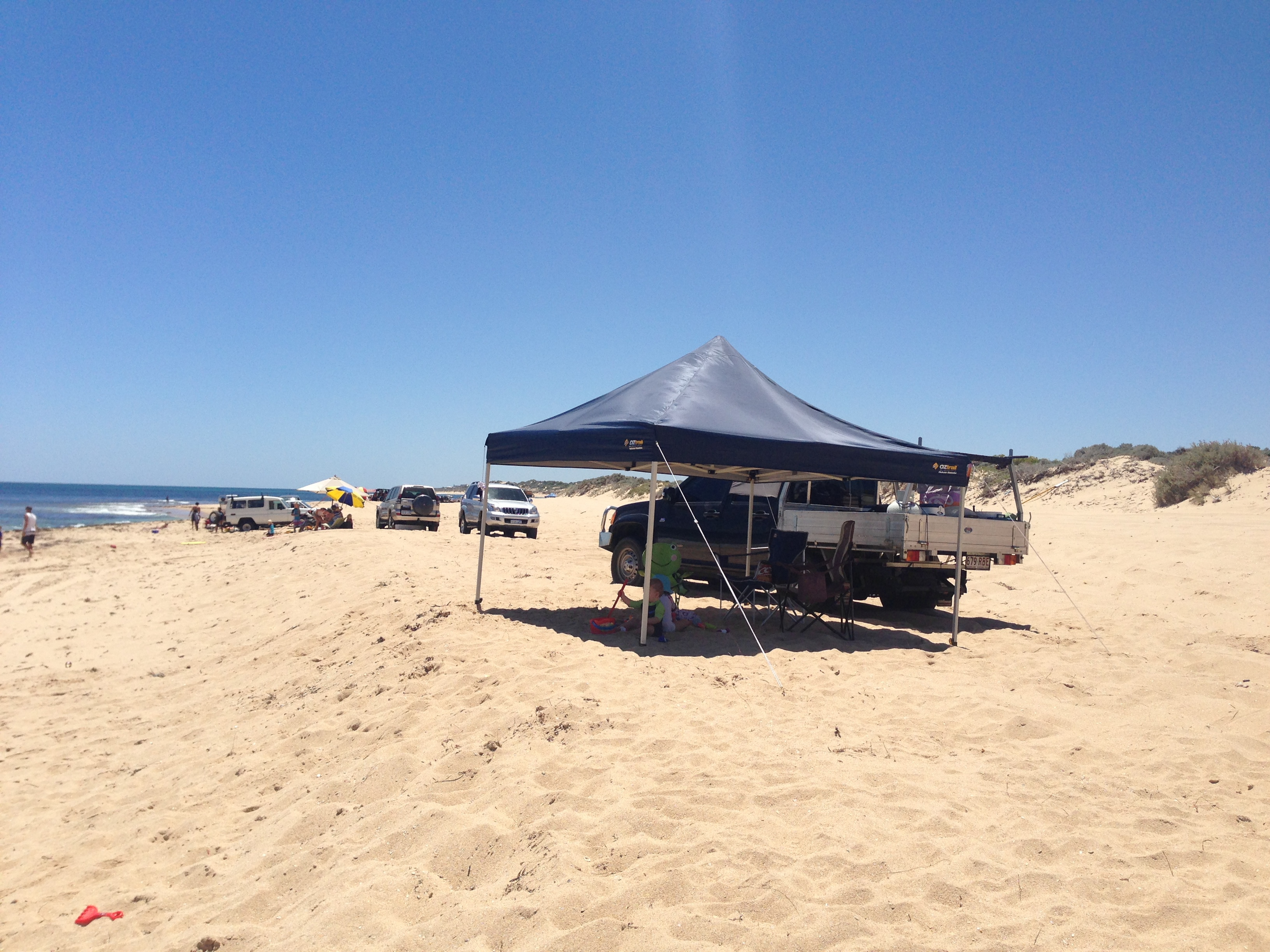 Four Wheel Driving On Tims Thicket Beach Perth