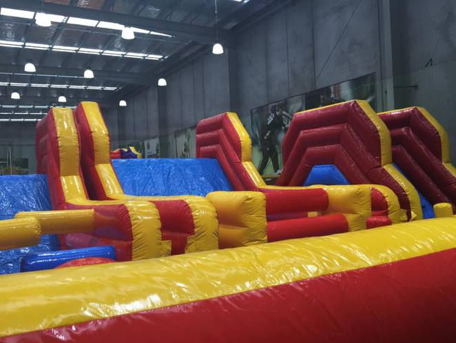 Ultimate Inflatable School Holiday Fun
