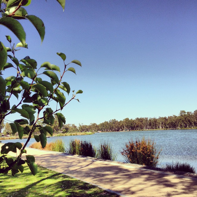 victoria lake, shepparton, park, travel, leisure, outdoors, australia, holiday, relax, manmade