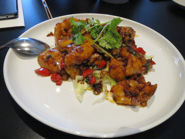 Wah Hing Restaurant, Dry Tossed Fish Fillet in XO and Chilli Oil, Adelaide