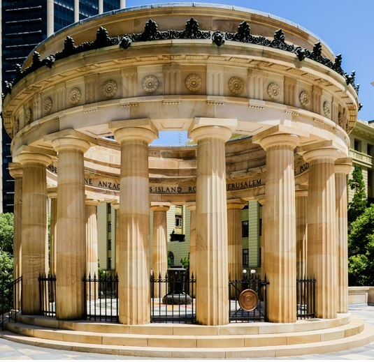 Fall of Singapore, battle, WWII, memorial, service, shrine of remembrance, ANZAC square, army