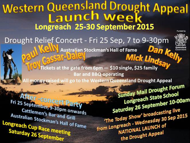 Paul Kelly; Longreach;