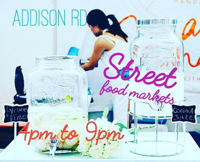 addison rd community centre marrickville, street food markets, night time markets