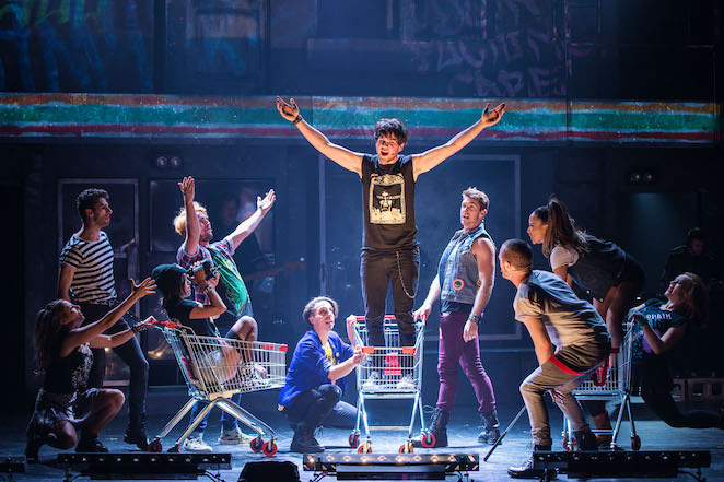 american idiot green day qpac stage