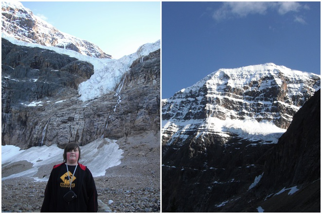 Angel Glacier, Mt Edith Cavell