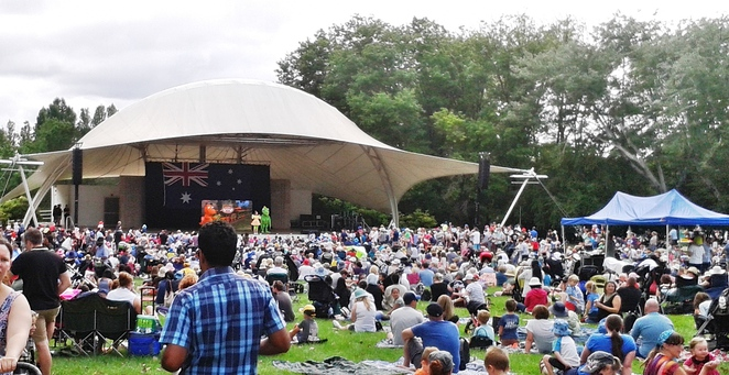 australia day in the capital, 2017, events, family, canberra, ACT,
