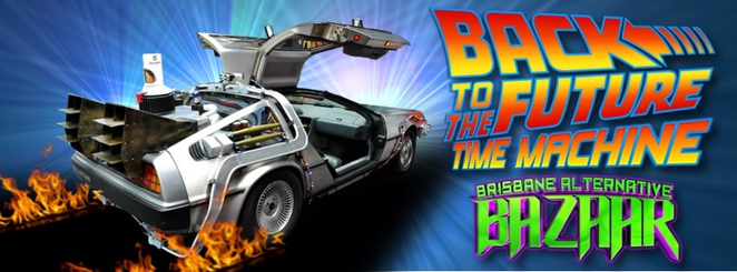 back to the future part ii, back to the future, delorean, time machine, brisbane alternative expo, brisbane pop culturel, pop culture,