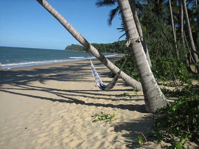 beach, queensland