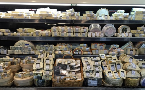 Boat,Shed,range,of,cheeses