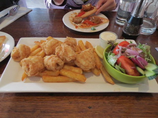Cafe Cena, Salt and Pepper Calamari, Adelaide