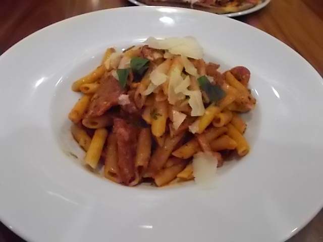 Cafe Palazzo, Spicy Meat Pasta, Adelaide