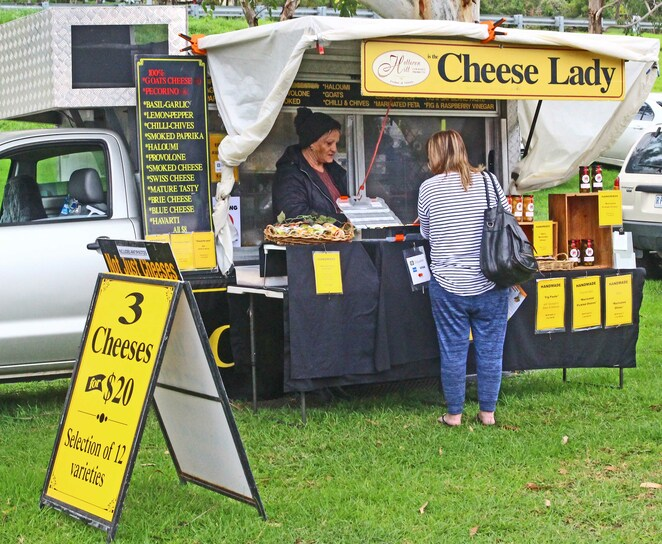 Cheese sales