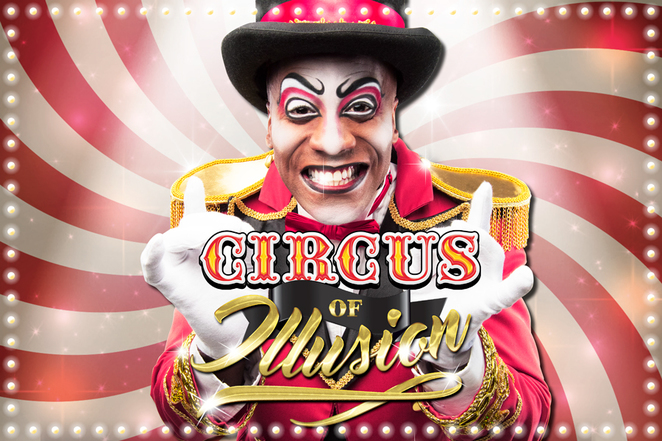 Circus, illusion, big, top, gold, coast, live, show, southport, clown