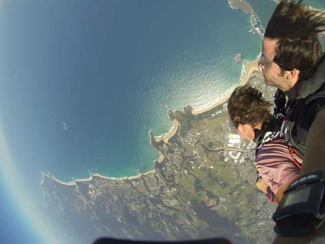 Coffs City Skydivers, skydiving, adrenaline, thrill seeking, freefalling, tandem dive, fear factor, Coffs Harbour, skydiving, parachute, Christian Penny, Dillon Penny, Jacquelin Melilli, Jacqx