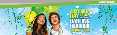 darling harbour australia day spectacular