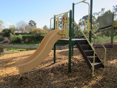 dunstan adventure playground, st peters, flying fox, slippery dip, suspension bridge, picnic, park
