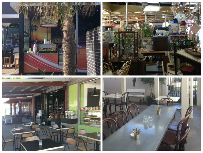 East brisbane cafe collage