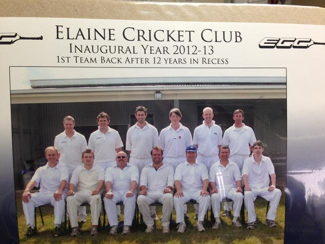 Elaine Cricket Club