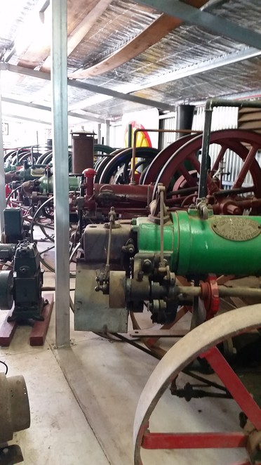 Farm machinery, traction engines, mining and industrial equipment.