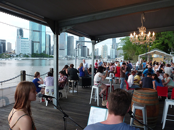 The venue at Riverlife