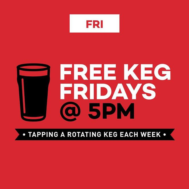 Free Keg Friday @ The Craft & Co