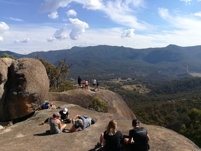 gibraltar peak, canberra, views, lookouts, bushwalks, walks, tidbinbilla nature parks, things to do, walks, best bushwalks in canberra, peaks, mountains, hills,