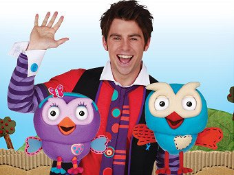 Giggle and hoot, bananas in pyjamas, kids shows brisbane, things to do toddlers