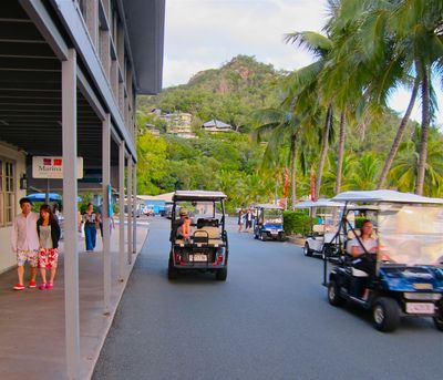 Golf Buggy, Hamilton Island, The Whitsundays