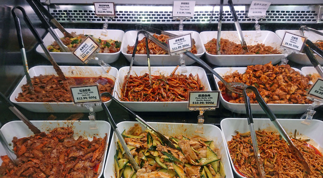 homes supermarket adelaide chinatown spicy salad