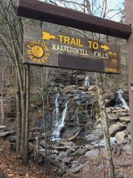 kaaterskill, catskills, mountains, hike, waterfall, walk, national park