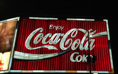 Kings Cross Coca Cola Sign