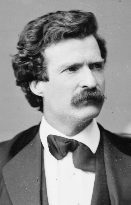 Mark Twain, authors born in November, banned books