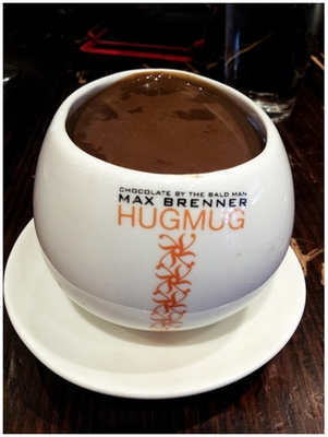 Max Brenner, Alice, Hug Mug, Chocolate, Suckao