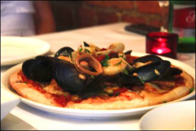 Mixed Seafood Pizza