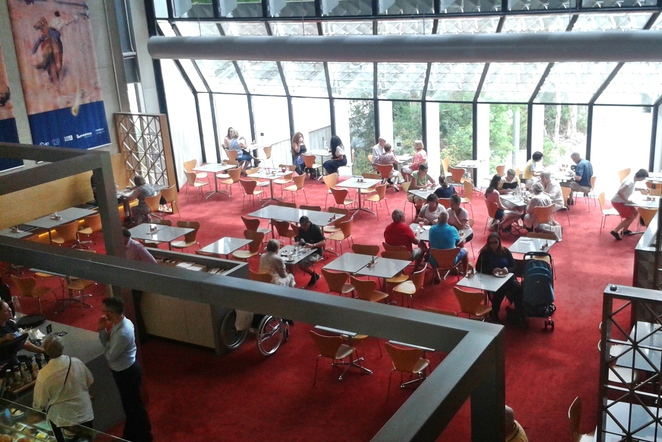 NGA cafe, national gallery cafe, museum, cafes, canberra, ACT, seniors, winter, kids,