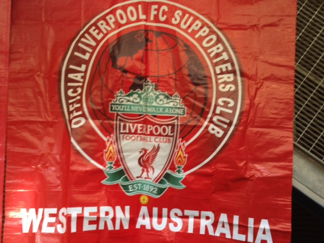 Official Liverpool Football Club Supporters Club Western Australia, flag