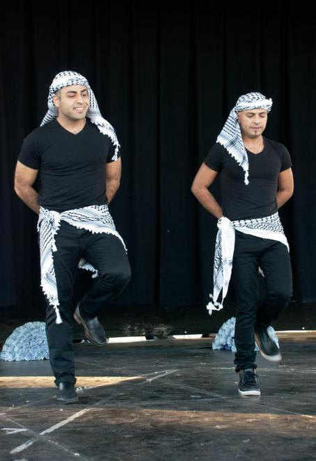 how to dance dabke essay Lebanese traditions some men and women hold hands and start to dance their traditional dance is called dabke (dabkeh) later it changed its name into daloonah or a form of improvised singing and dancing the dabke dance.