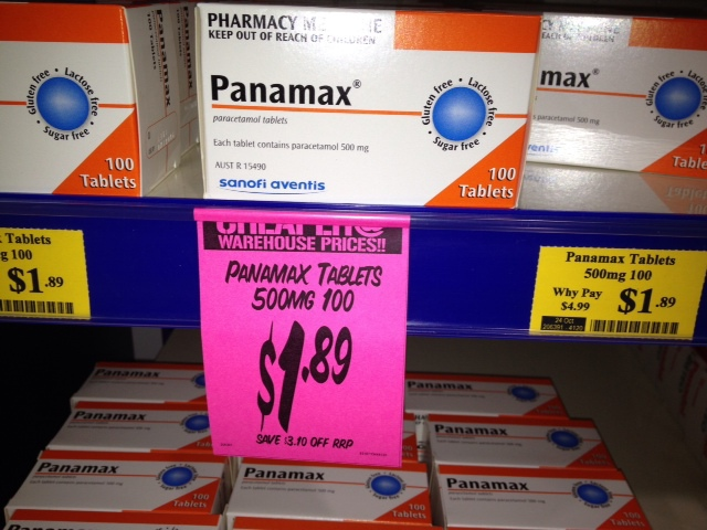 panamax, cheap painkillers, discounts, chemist, Chemist Warehouse