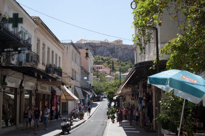 Plaka Athens, vacation in Athens, holiday in Plaka